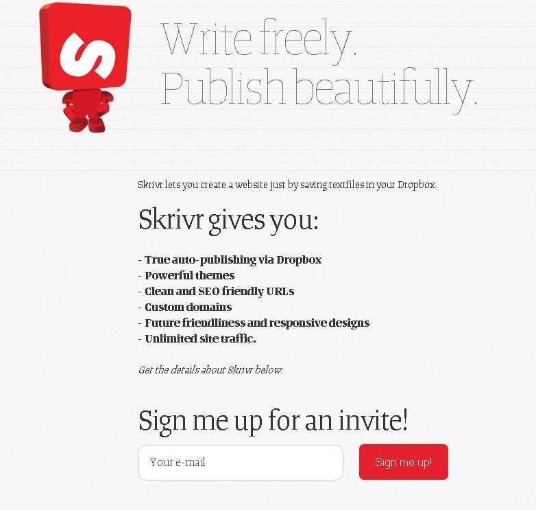 FireShot Screen Capture #033 - 'Skrivr - Write freely_ Publish beautifully_ The future of web typography today_' - skrivr_com