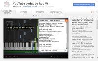 FireShot Screen Capture #069 - 'Chrome Web Store - YouTube Lyrics by Rob W' - chrome_google_com_webstore_detail_youtube-lyrics-by-rob-w_lifkpflabnobkgbjpcmocmgcajlecbcp