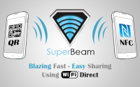 SuperBeam, Compartir Archivos Mediante WiFi