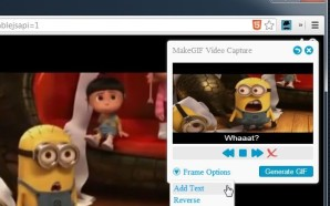 Generar Gifs Animados de Videos que visualizamos en Chrome