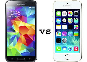 Galaxy S5 Vs iPhone 5S. Características Generales
